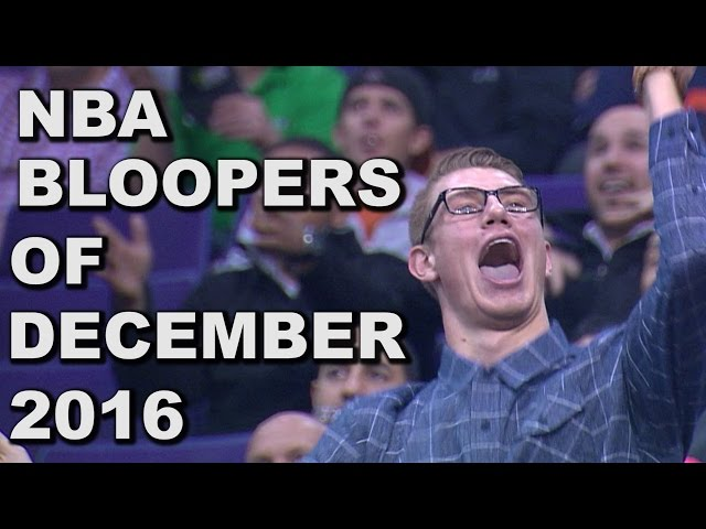 Bloopers of December 2016