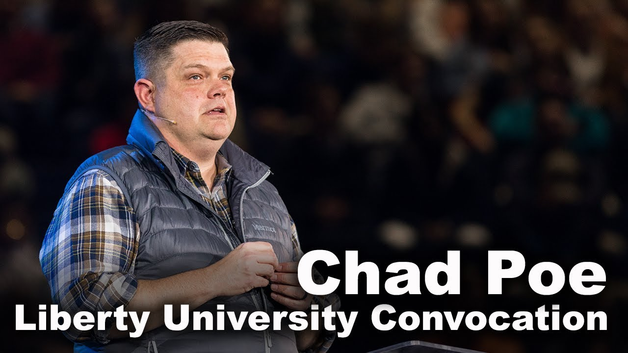 Chad Poe – Liberty University Convocation