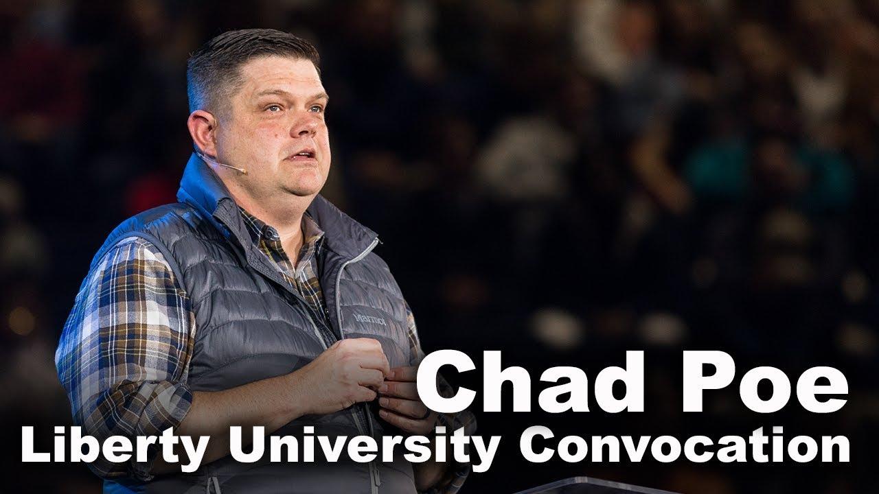 Chad Poe - Liberty University Convocation
