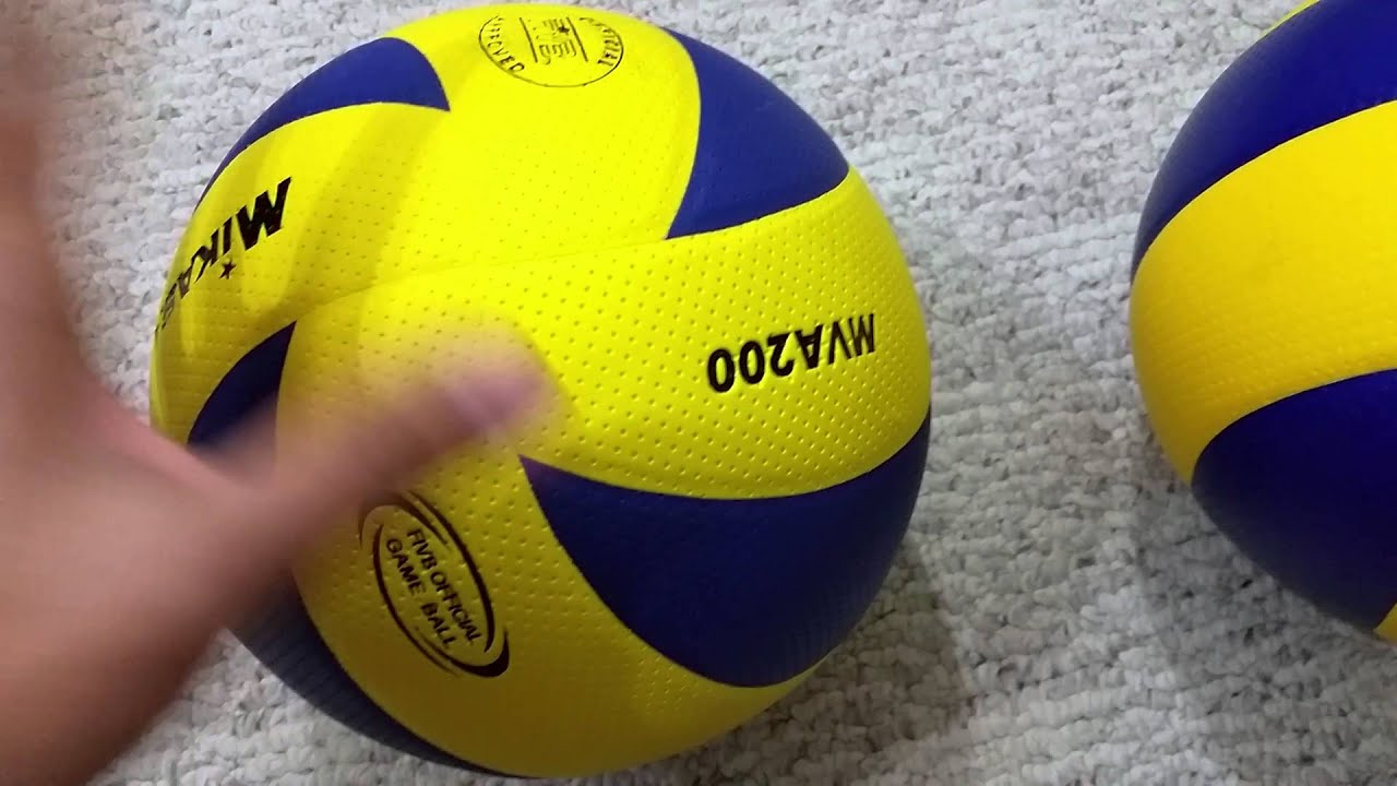 3157ce548e FAKE (Made in Japan China) vs Genuine (Made in Thailand) MVA200 Official  Olympic volleyball