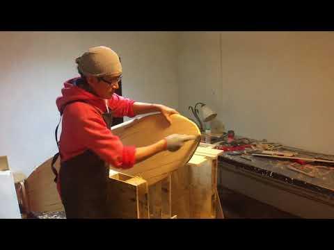 木製衝浪板技術 工具篇:網銼