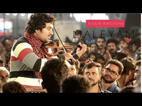 Maleyam - Violin Ringtone Project No.2 Abhijith P S Nair