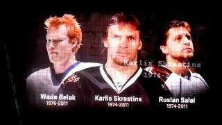 Dallas Stars tribute to Karlis Skrastins