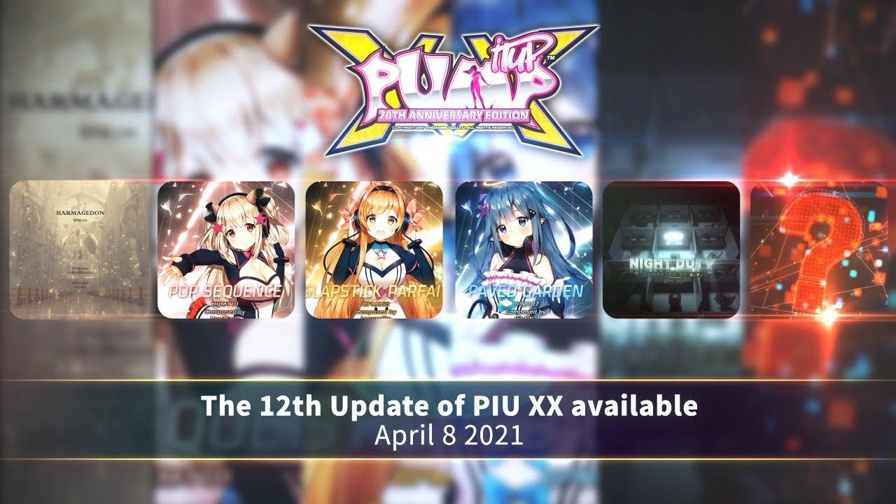 [UPDATE] PIU XX 2.06.0 Final Song List(최종 곡 리스트)