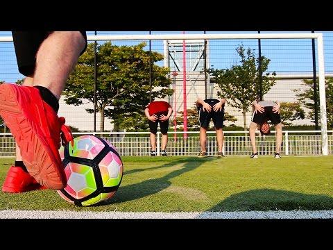LES PIRES FOOTBALLEURS ! Crossbar Challenge