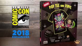 SDCC Exclusive Rick and Morty Vinyl Record and Tee!