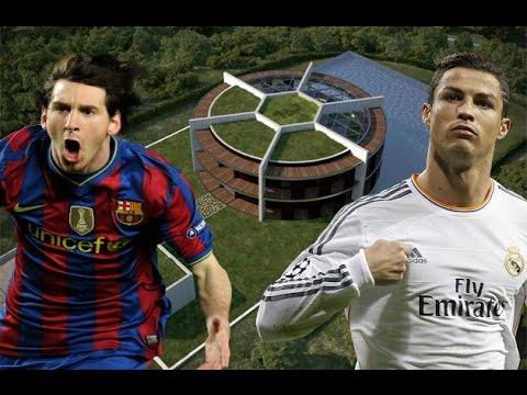 Las Mansiones Mas Caras De Futbolistas