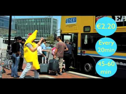 How to get to Avalon House from the airport (so easy a banana could do it)