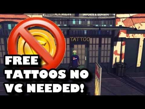 HOW TO GET FREE TATTOS IN NBA 2K20!🔥