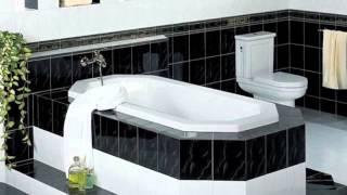 видео Цветовые сочетания для ванных комнат в 3D