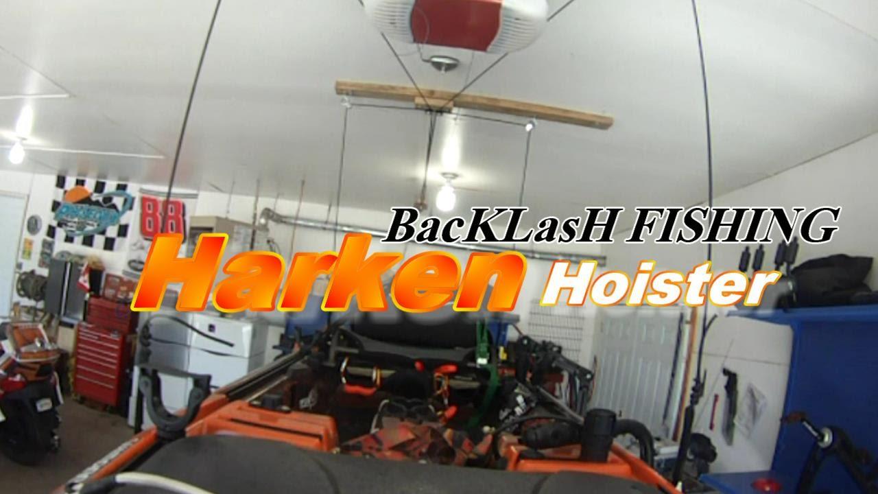 Harken Hoister   Great for kayaks too!