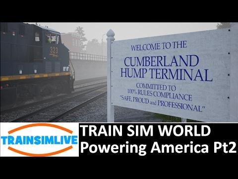 Train Sim World: Scenario - Powering America Part 2