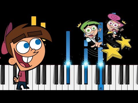 Fairly Odd Parents - Theme Song - Piano Tutorial