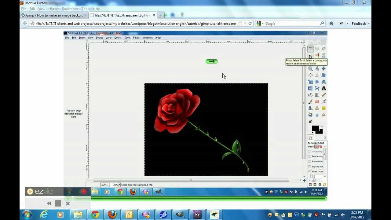 Gimp 2.0 Create Transparent Background Using Gimp 2 8