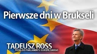 Tadeusz Ross: Pierwsze dni w Brukseli