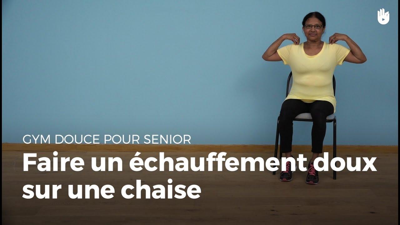 Favori Exercices d'échauffements doux | Gym douce - YouTube MO35