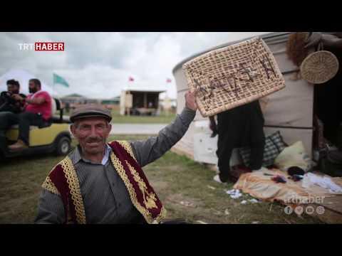 Etnospor Festivali'nde yöresel tatlar da ziyaretçilerin ilgi odağı