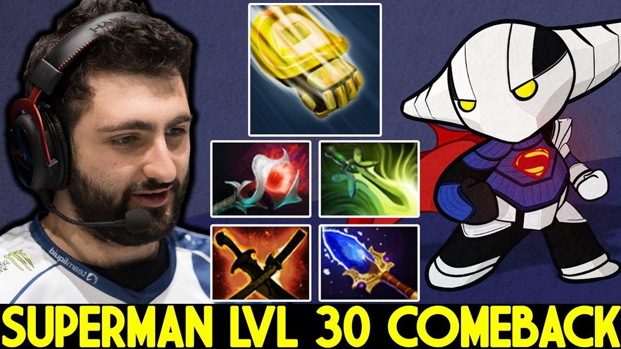GH [Sven] Insane Superman Level 30 Comeback Hard Game 7.23 Dota 2