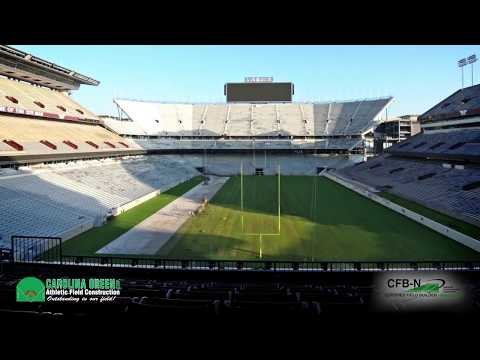 Texas A & M Football Stadium Time Lapse - Carolina Green Corp.