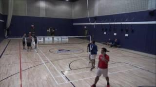 Piranhas Badminton Match tournoi ETS  (UQTR et Sherbrooke)