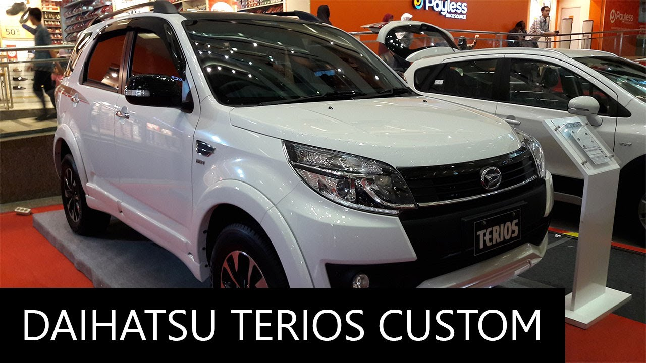 2017 daihatsu terios custom exterior and interior walkaround