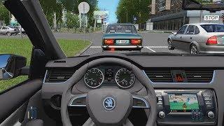 City Car Driving - Skoda Octavia 1.8 TSI | Normal Driving