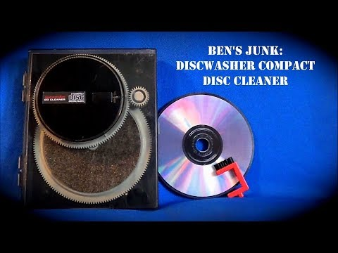 Oddity Archive: Episode 142.5 – Ben's Junk: Discwasher Compact Disc Cleaner