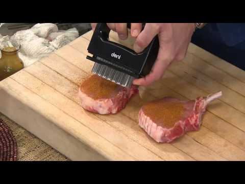 Deni Stainless Steel Blade Meat Tenderizer With Handle With David Venable