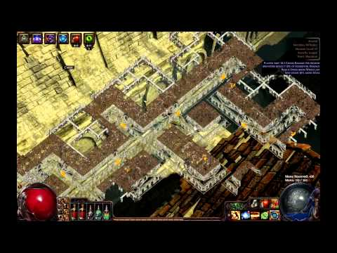 Path of Exile - Berserker Marauder (67map Arsenal)