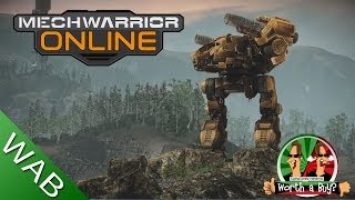 Mechwarrior Online Review - Worth a Buy? (Free to Play Series) (Video Game Video Review)