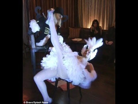Real Housewives Of New York City Sonja Morgan's Burlesque Dance