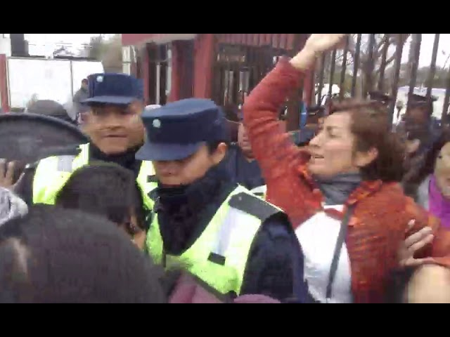 Terrible golpe policial a una docente  Video 2019 07 24 at 21 36 32