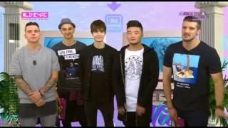MBAND  в программе  Likeчас на Музыке первого (эфир от 21.11.2016) thumbnail