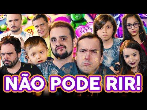 NÃO PODE RIR! - Dia das CRIANÇAS com Gigante Leo, Manoela Antelo, Enzo Dannemann, Julia Dias e Davi