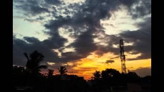 Indian Sunset - Timelapse