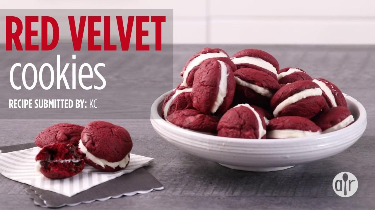 How to make red velvet cookies dessert recipes allrecipes how to make red velvet cookies dessert recipes allrecipes forumfinder Images