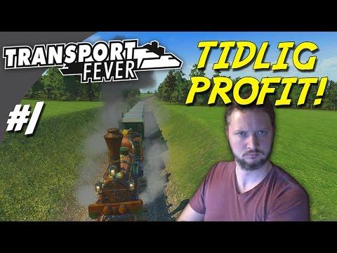 TIDLIG PROFIT! - Transport Fever dansk Ep 1