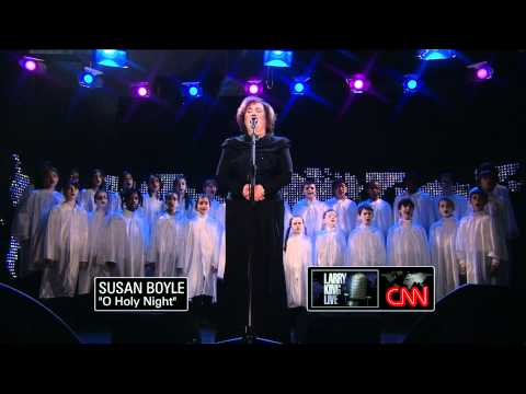 Susan Boyle - O Holy Night - Larry King LIve - December 2010