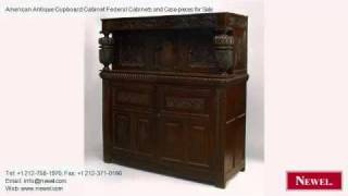 American Antique Cupboard Cabinet Federal Cabinets And