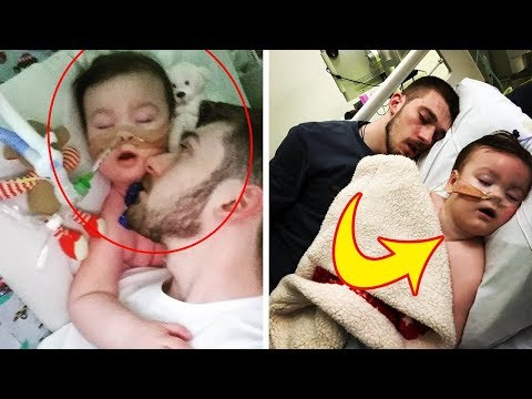 A Father's Heartbreaking Final Moments With This Dying Toddler Have Been Revealed