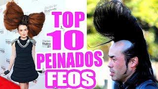 Los 10 Peinados Más Feos y Raros del Planeta! SandraCiresArt