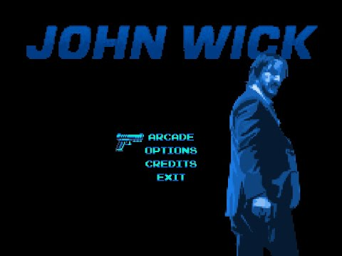 John Wick small game based on fake NES tribute video to the movies