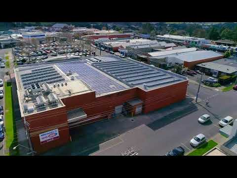 Committed Solar Solutions: 200KW Solar Panel System