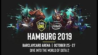 LIVE DOTA   ESL One Hamburg 2019   WIND AND RAIN VS LIQUID  CASTER KUDO