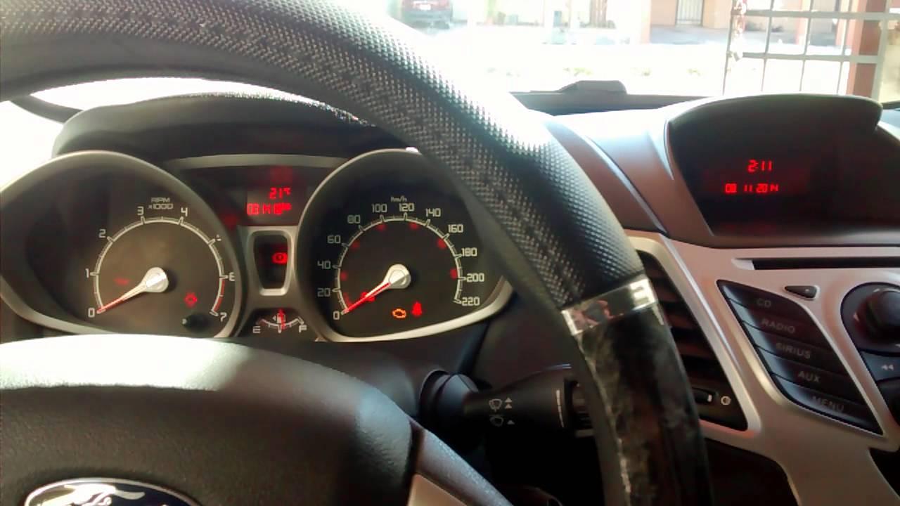 Reseteo De Alarma Por Cambio De Aceite Ford Fiesta 2011