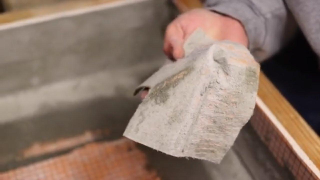 PVC pan liner flood test   Terry Love Plumbing & Remodel DIY