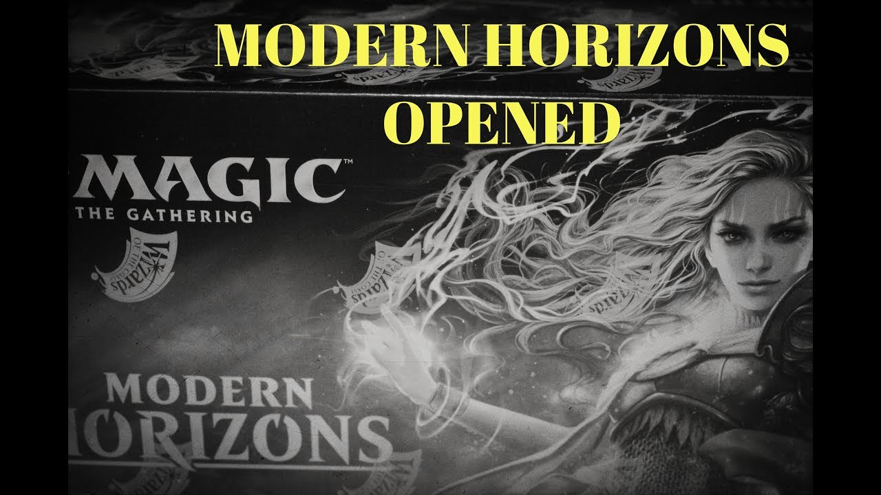 Modern Horizons Box Opening By Dragonhill Games Youtube