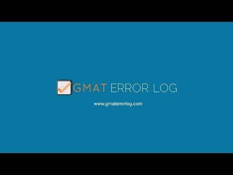 GMAT Error Log