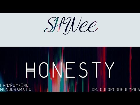 SHINee (샤이니) - 늘 그자리에 (Honesty) (Han|Rom|Eng)