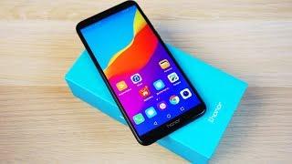 РАСПАКОВКА Huawei Honor 7C - КОНКУРЕНТ Xiaomi Redmi 5